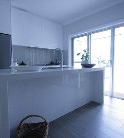 Sydney Bathroom Renovators - Long bathroom sink table