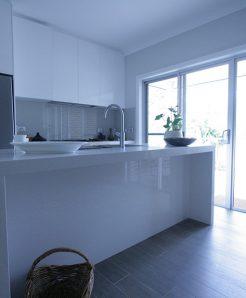 Sydney Bathroom Renovators - Long bathroom sink table