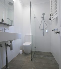 Sydney Bathroom Renovators - Small bathroom with shower