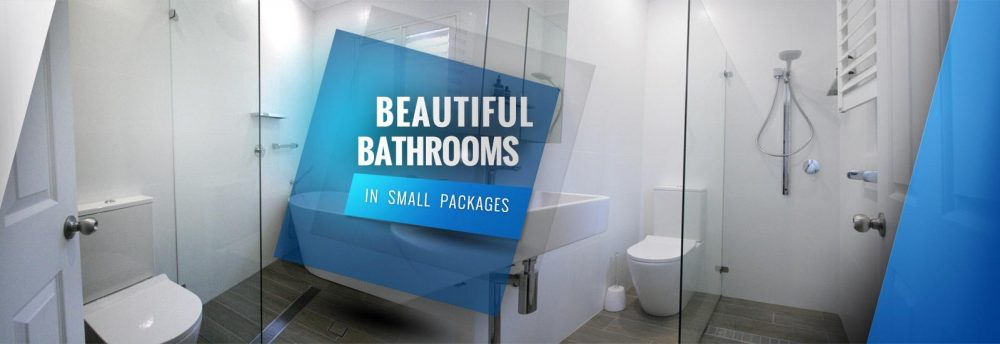 Beautiful Bathrooms in small packages