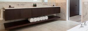 bathroom design - floating vanity