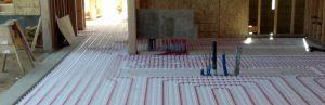 Bathroom Design - Radiant Heat Flooring