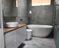 Grey Tile Bathroom Ideas Sutherland Shire