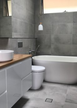 Grey Tile Bathroom Ideas Sutherland Shire
