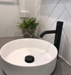 Modern Contemporary Bathroom Basin and Tapware Bathroom Renovations Sutherland Shire