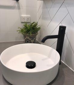 Modern Contemporary Bathroom Basin and Tapware Bathroom Renovations Sutherland Shire