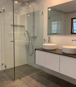 Modern and Simplistic Budget Bathroom Renovations Sydney